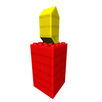 simple lego candle